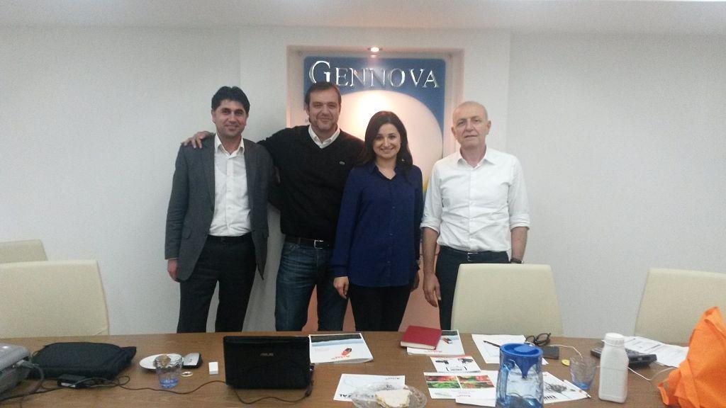 Jornada de capacitación en Turquía