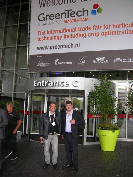 Visita a GreenTech 2016