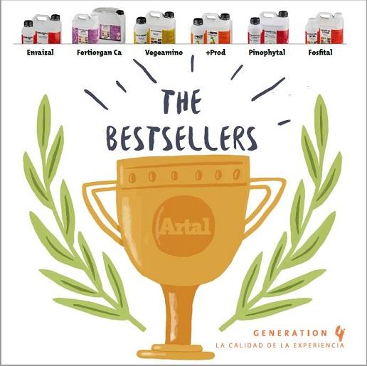 ARTAL presenta sus 'BESTSELLERS'