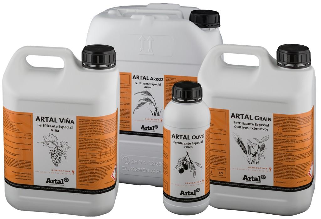 ARTAL Agronutrientes lanza una nueva gama de productos para cultivos específicos