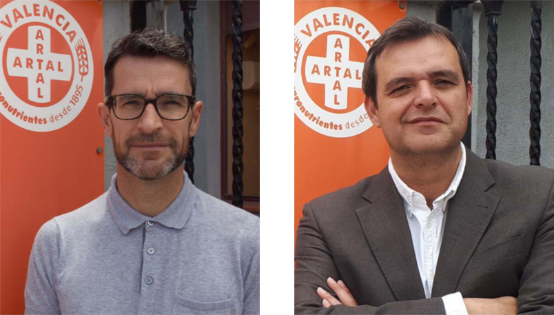 Francisco y Juan Artal Huerta, 4ª Generación de ARTAL Agronutrientes - Valencia, España