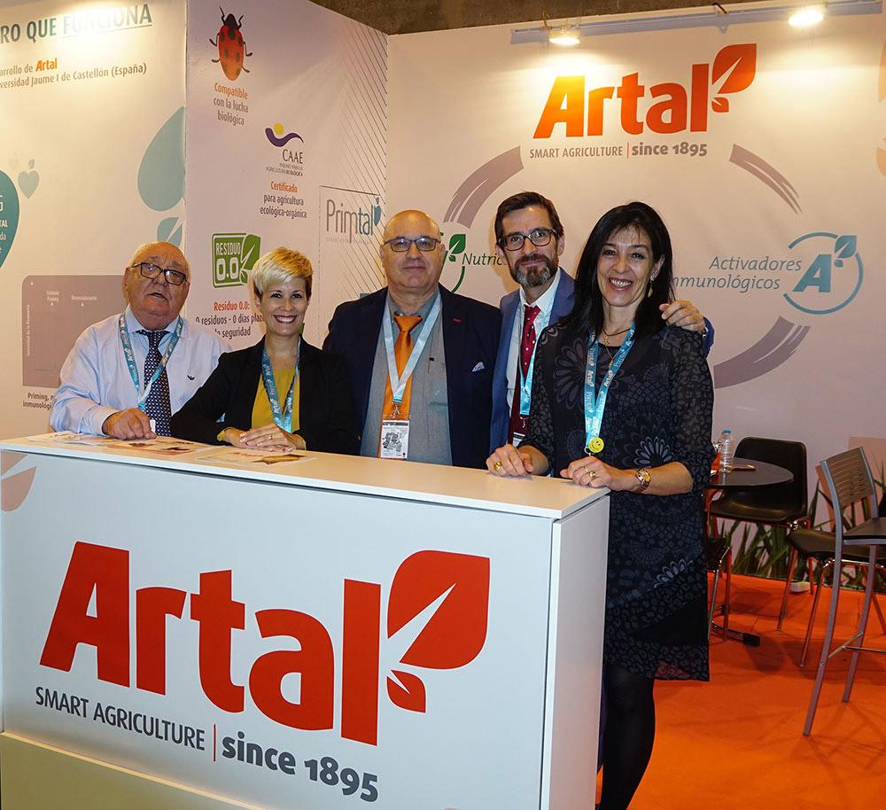 Equipo humano empresa fabricante de fertilizantes ARTAL Smart Agriculture