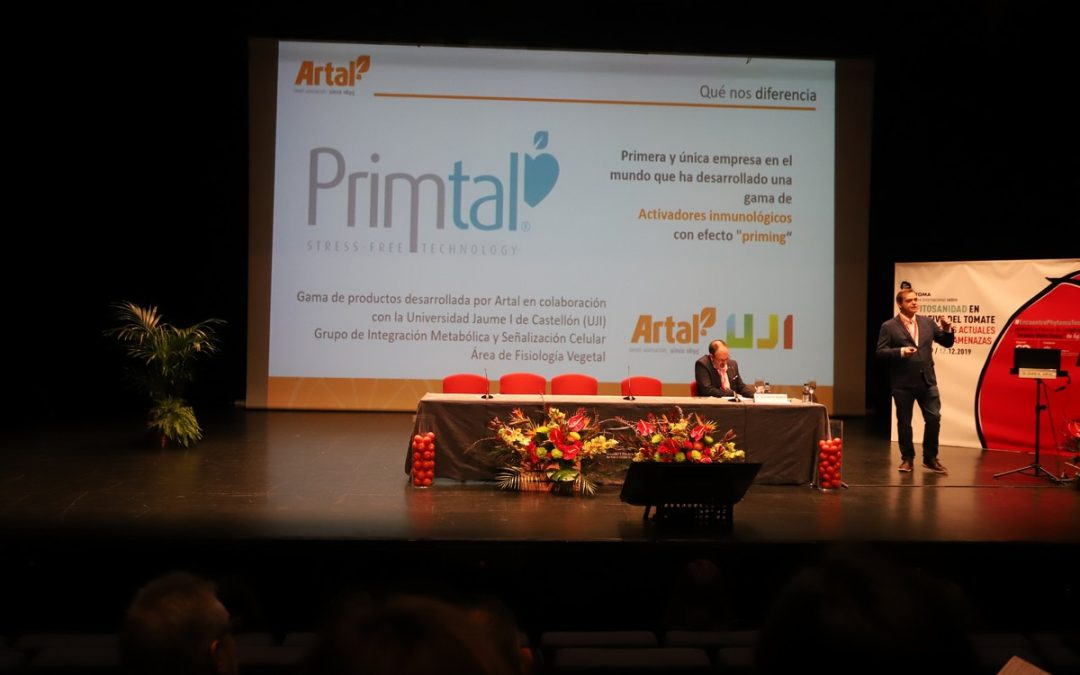 PRIMTAL, protagonist of an international symposium on Plant health in tomato cultivation