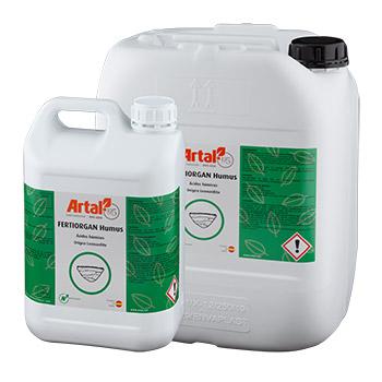 FERTIORGAN HUMUS est un produit à base d'acides humiques et fulviques