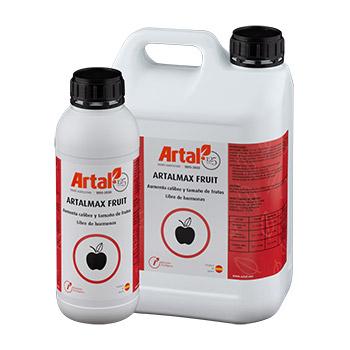 ARTALMAX FRUIT est un biostimulant liquide, sans hormones, spécialement développé pour augmenter le calibre et la taille des fruits et légumes
