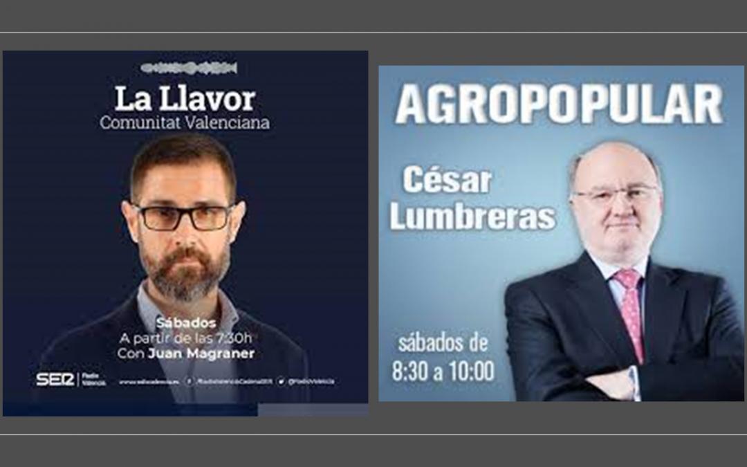ARTAL Smart Agriculture patrocina los principales programas radiofónicos de información agraria