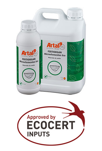 FERTIORGAN Micro ECO is a product made out of organic matter coming from conifers from northern Europe for its use in organic farming