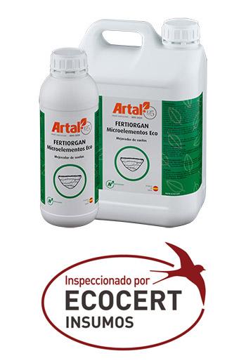 FERTIORGAN MICROÉLÉMENTS ECO est un produit à base de Matière Organique provenant de conifères du Nord de l'Europe pour l'utilisation dans l'agriculture écologique