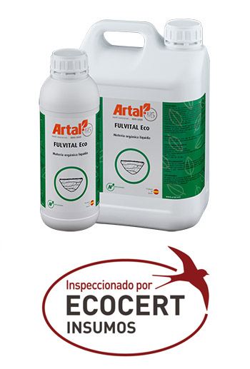 FULVITAL ECO est un produit à base de Matière Organique résultante du processus de décomposition et transformation du matériel végétal